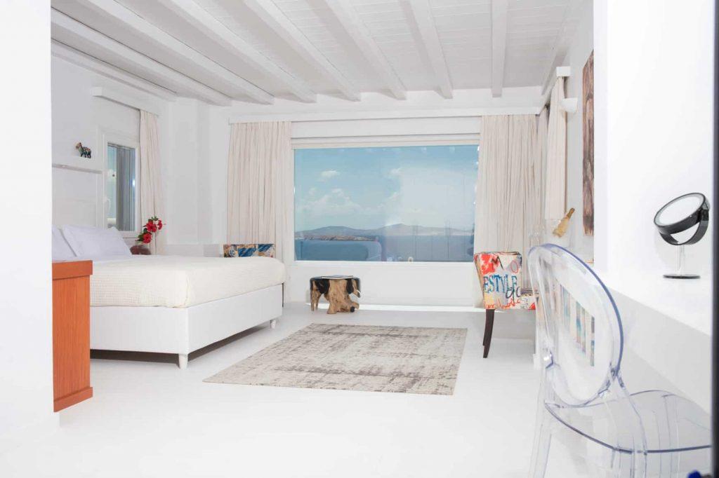 Villa panorámica interior