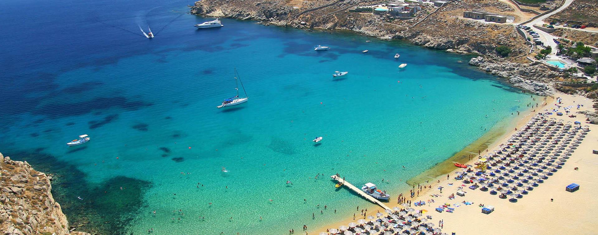 Best Island Beaches For Partying Mykonos St Barts: The 35 Sandy Beaches In Mykonos